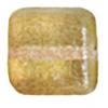 Glass Bead Squares 8mm Two-Tone Sugar Topaz - Strung